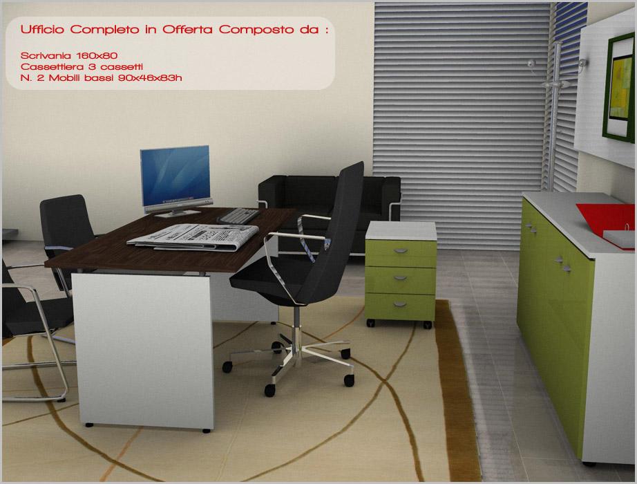 Scrivania Ufficio Regalo : Scrivanie con cassetti scrivania ufficio studio anta e cassettiera