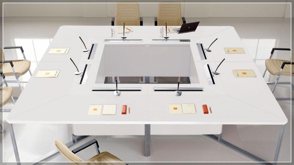 Las Arredo Ufficio Catalogo.Arredo Direzionale Sistema Di Tavoli Riunione Conferenza
