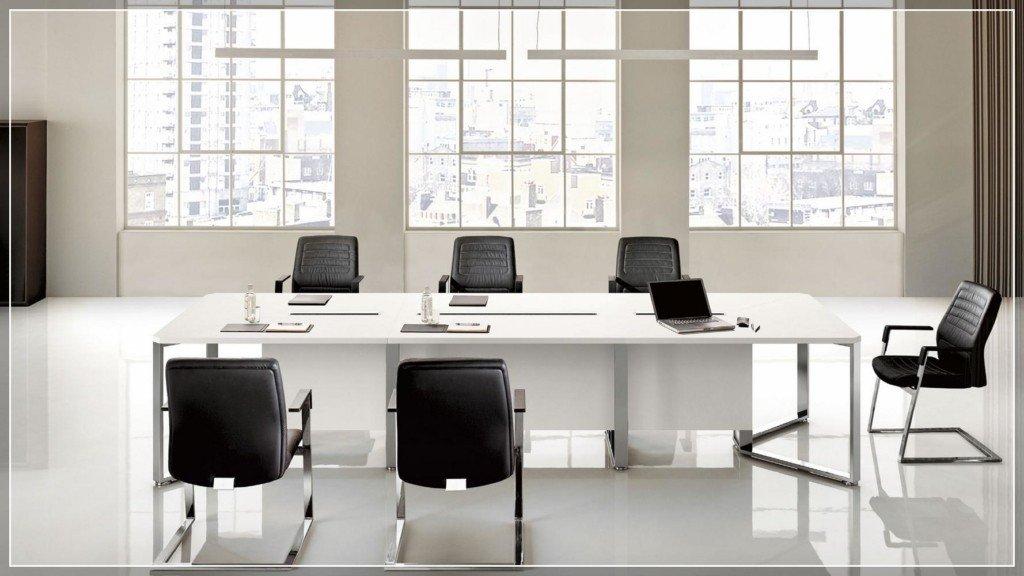 Arredo direzionale sistema di tavoli riunione for Las mobili ufficio