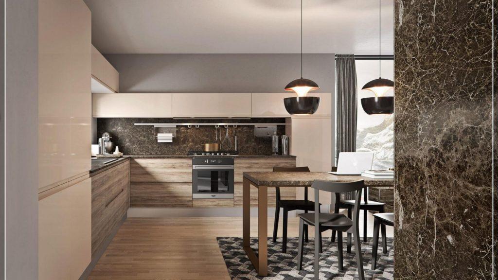Febalcasa modello cucina pura artec fantozzi for Progetto arredo cucina