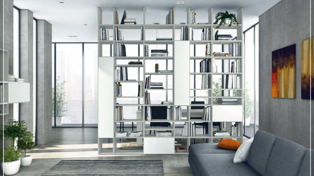 Arredo Casa Febal Casa Pisa – Living, Soggiorni e librerie Infinity Colombini